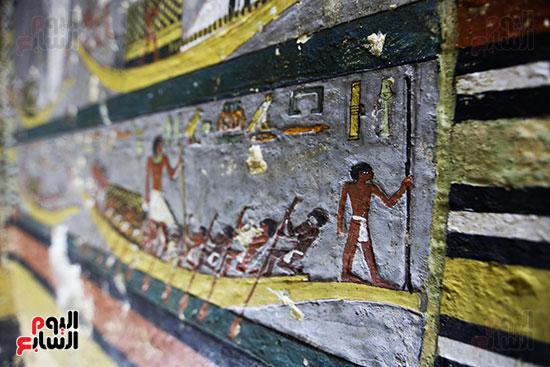 مقبرة خوى أحد النبلاء فى مصر  فى سقارة (21)