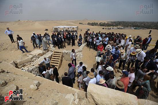 مقبرة خوى أحد النبلاء فى مصر  فى سقارة (7)