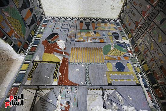 مقبرة خوى أحد النبلاء فى مصر  فى سقارة (11)