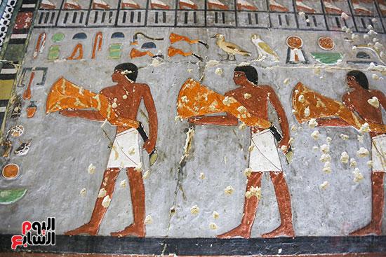مقبرة خوى أحد النبلاء فى مصر  فى سقارة (8)