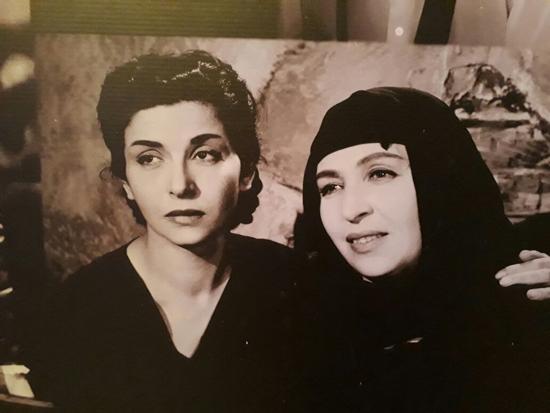 أمينة رزق و سناء جميل