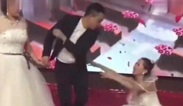 صور من فيديو حفل الزفاف