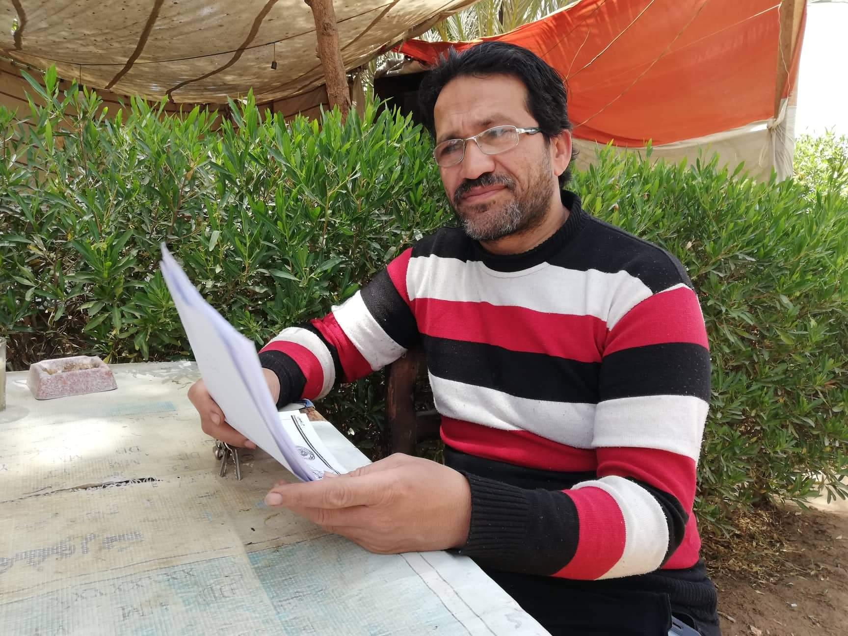 محمد أحمد سعيد شاب من أهالى مدينة موط بالداخلة (10)