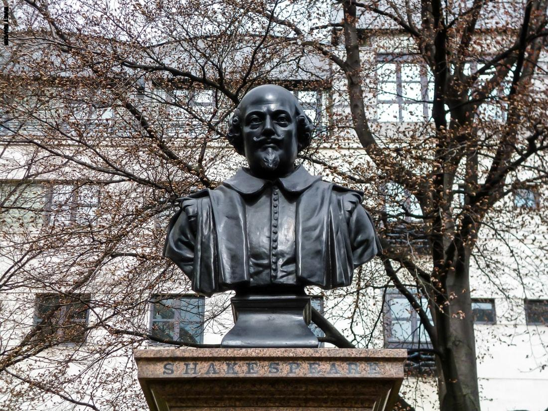 الكاتب المسرحى الإنجليزى شكسبير