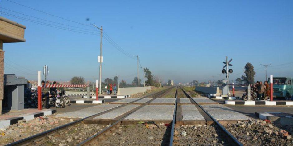 تجديد مزلقانات السكة الحديد