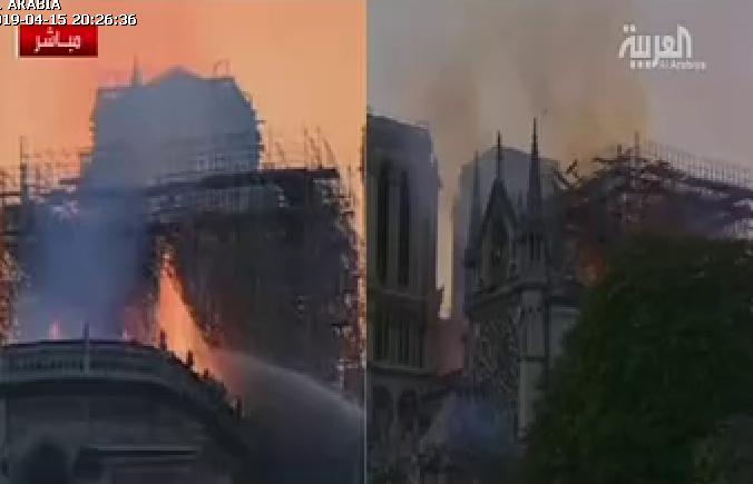 حريق الكاتدرائية