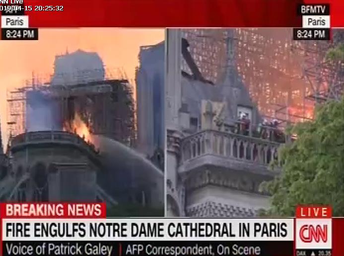 حريق كاتدرائية 1