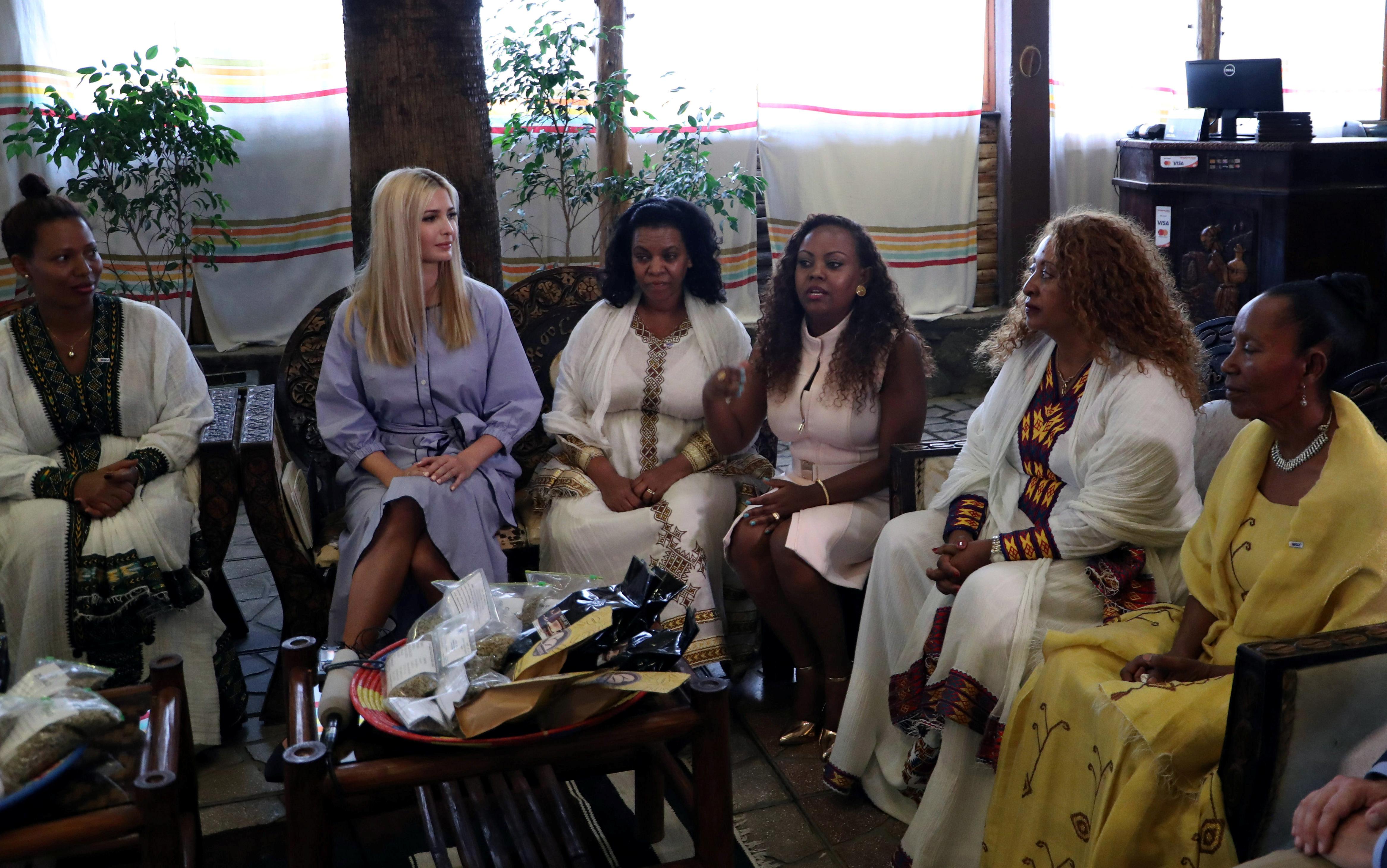 ايفانكا وسيدات اثيوبيا