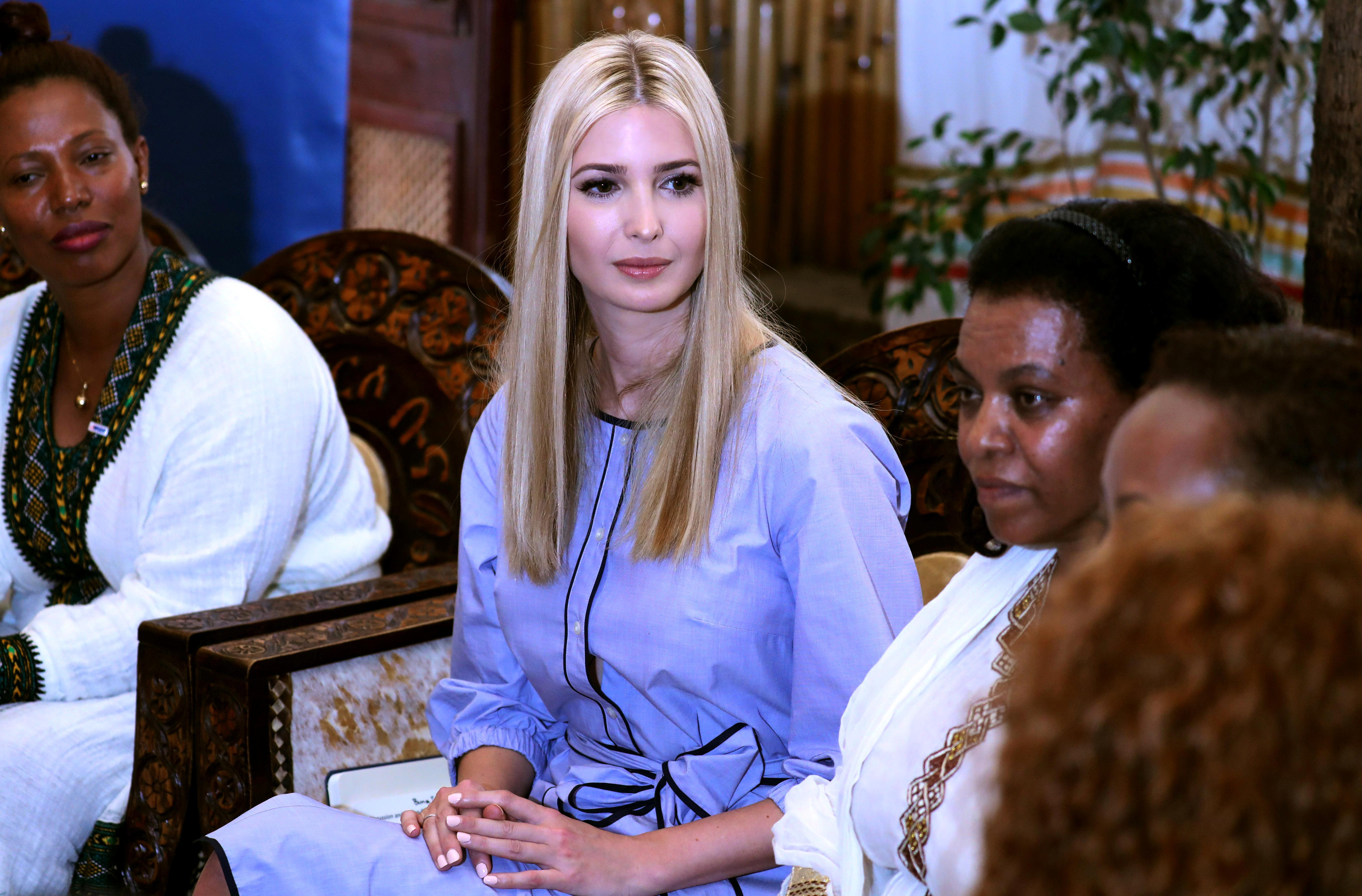 ايفانكا ترامب فى اثيوبيا