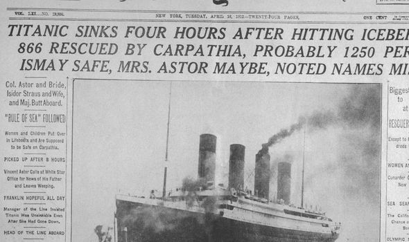 خبر غرق السفينة