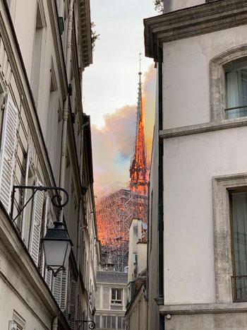 حريق كاتدرائية نوتردام (20)
