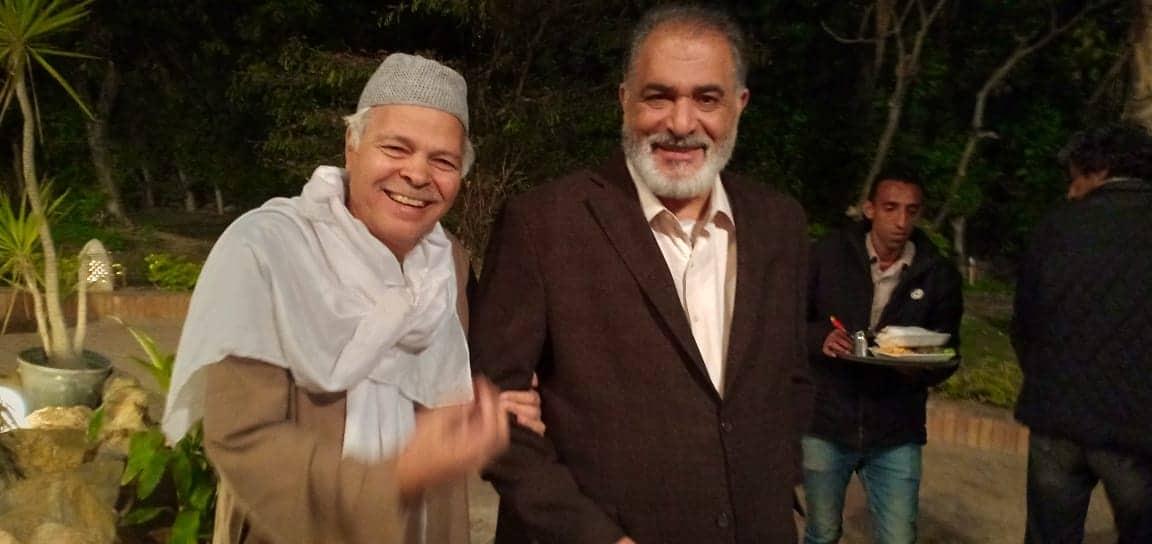 محمود عامر ورياض الخولى في مسلسل هوجان
