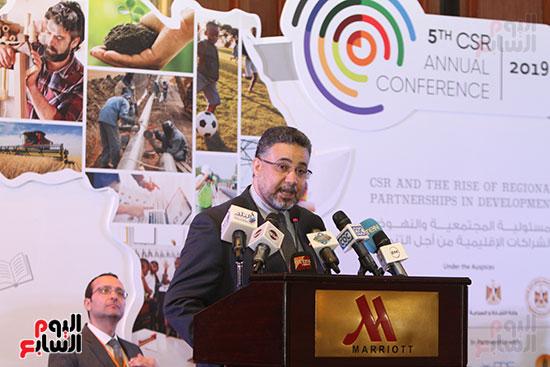 مؤتمر المسؤولية المجتمعية، الذى ينظمه اتحاد الصناعات (12)