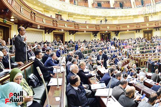 مجلس النواب يصوت على التعديلات الدستورية (19)