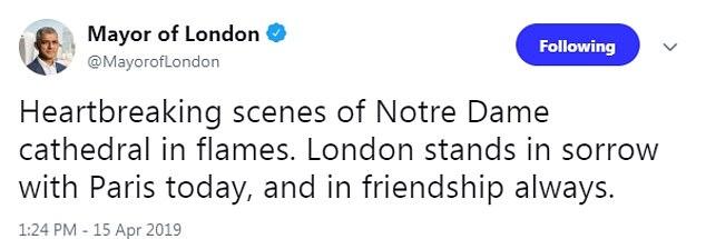 عمدة لندن