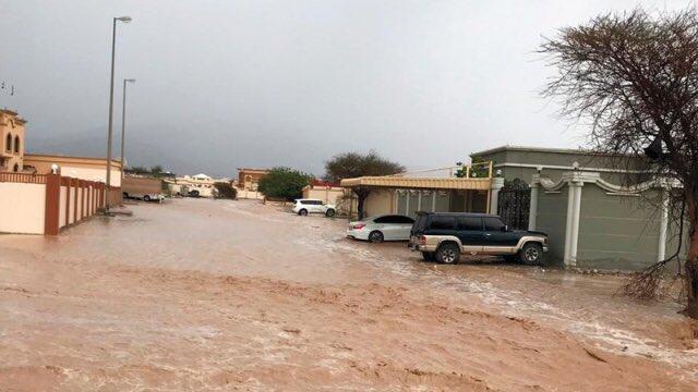 الامطار فى الامرات شهدت اعلى معدلاتها خلال العام الحالى (2)