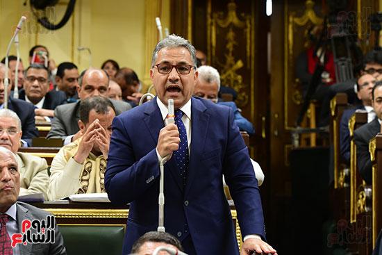 مجلس النواب يصوت على التعديلات الدستورية (40)
