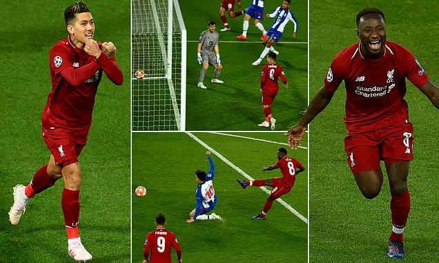 مباراة بورتو ضد ليفربول
