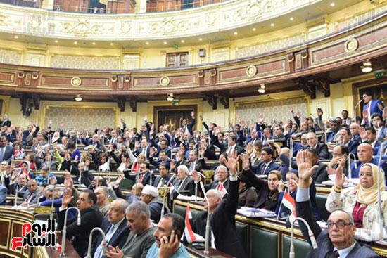مجلس النواب يصوت على التعديلات الدستورية (45)