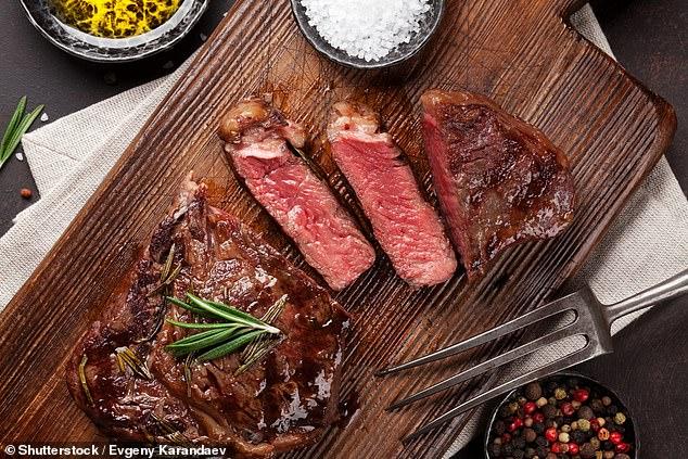 اللحوم الحمراء وخطر اصلاابة بسرطان الامعاء