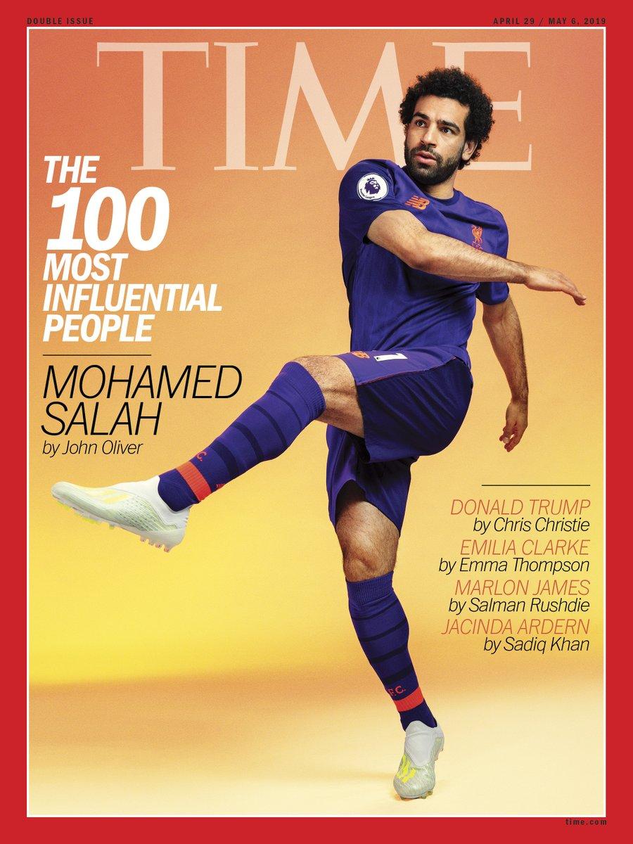 محمد صلاح على غلاف تايم