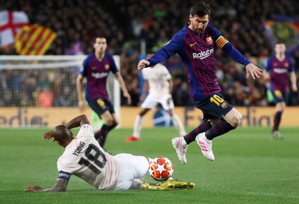 برشلونة ضد يونايتد  (1)