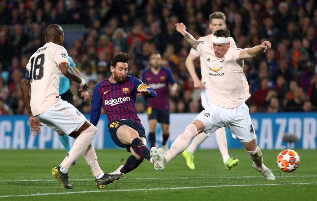 برشلونة ضد يونايتد  (4)