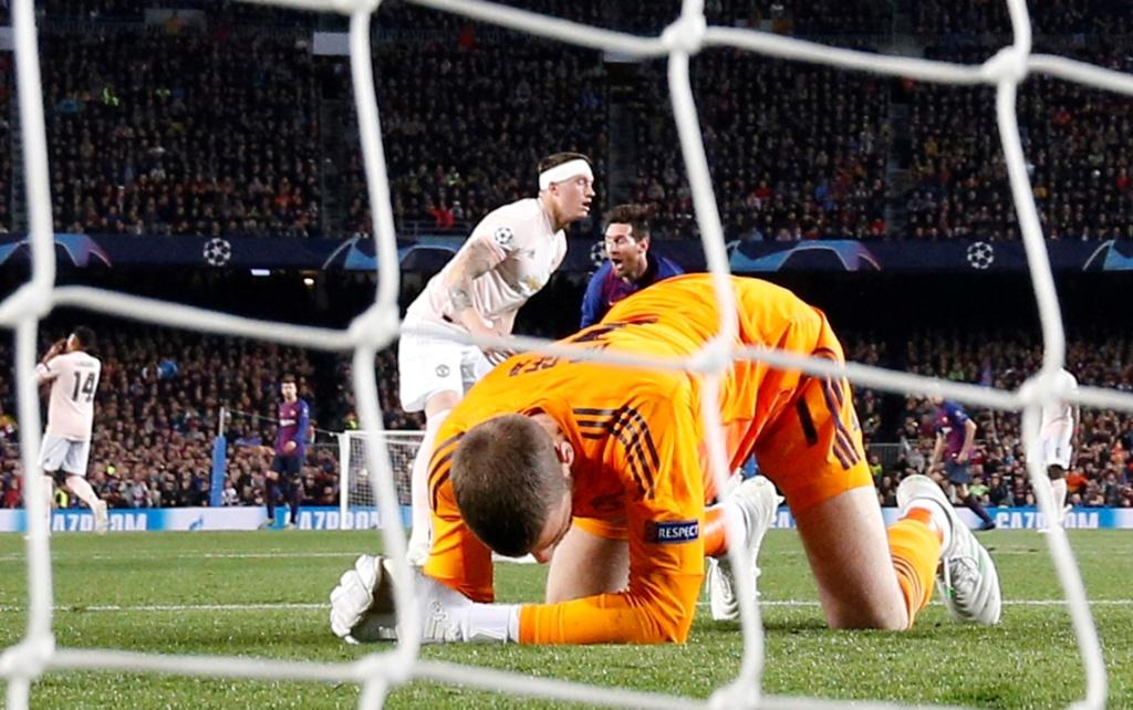 برشلونة ضد يونايتد  (7)