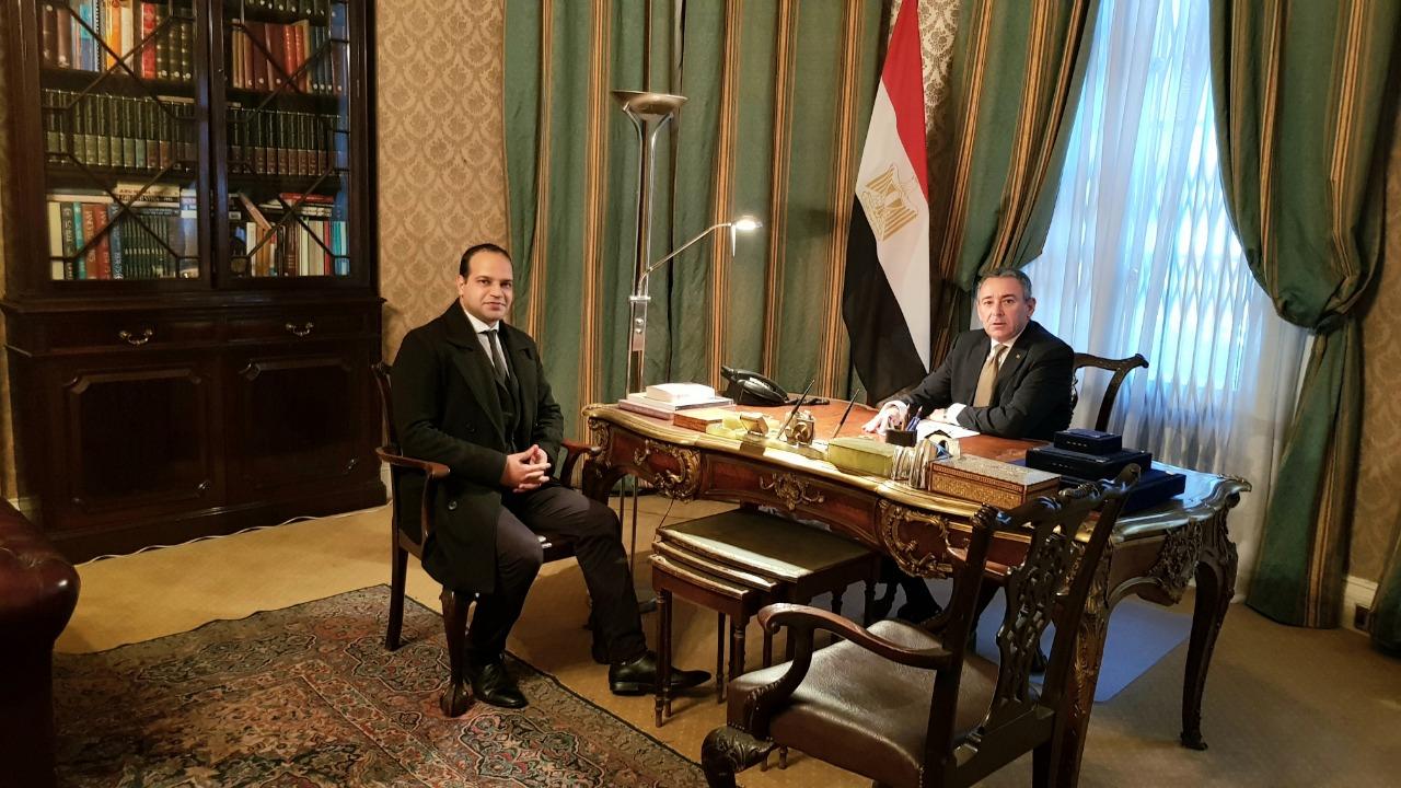 سفير مصر ببريطانيا لـاليوم السابع من لندن