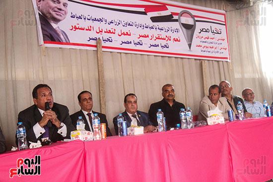 مديرية الزراعة بالجيزة تنظم مؤتمرا بالعياط للتوعية بالتعديلات الدستورية (20)