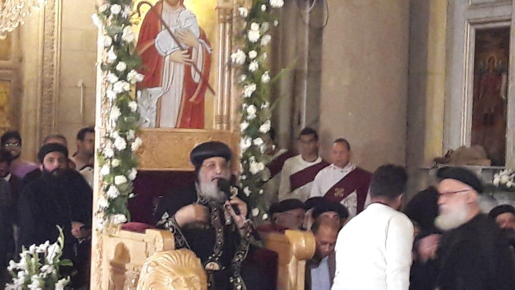 البابا تواضروس الثانى بابا الإسكندرية وبطريرك الكرازة المرقسية (1)