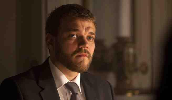 الممثل الدنماركى يوهان فيليب أسبايك