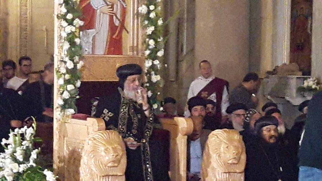 البابا تواضروس الثانى بابا الإسكندرية وبطريرك الكرازة المرقسية (7)