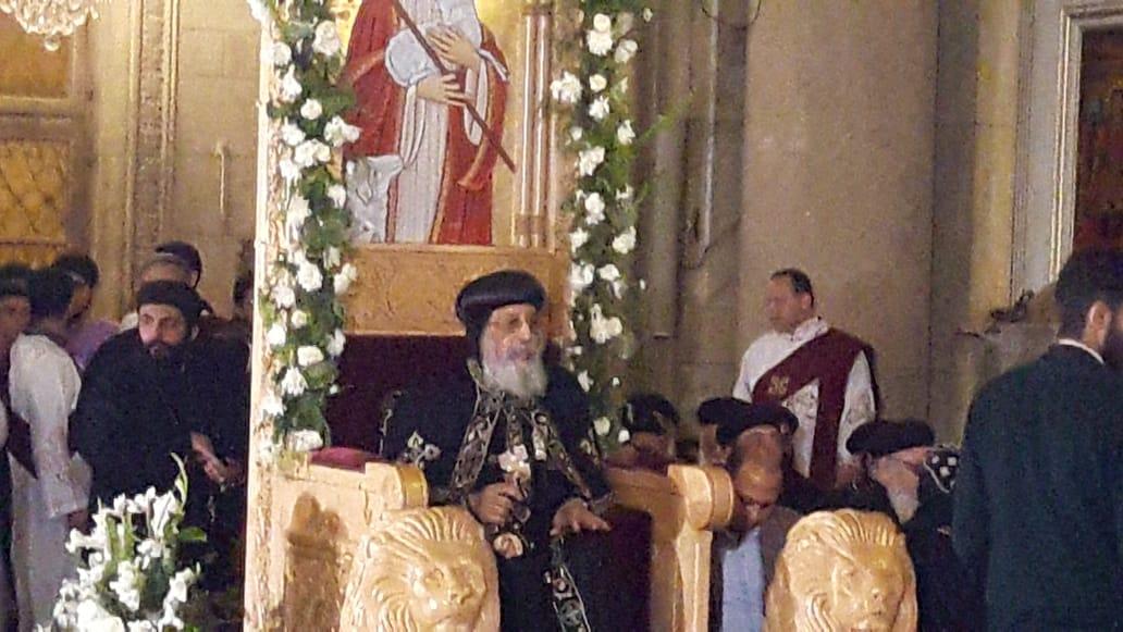 البابا تواضروس الثانى بابا الإسكندرية وبطريرك الكرازة المرقسية (2)