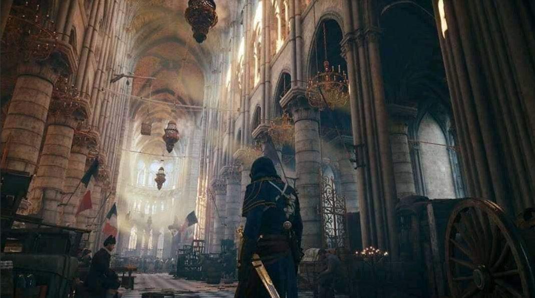مشهد آخر من لعبة Assassins Creed