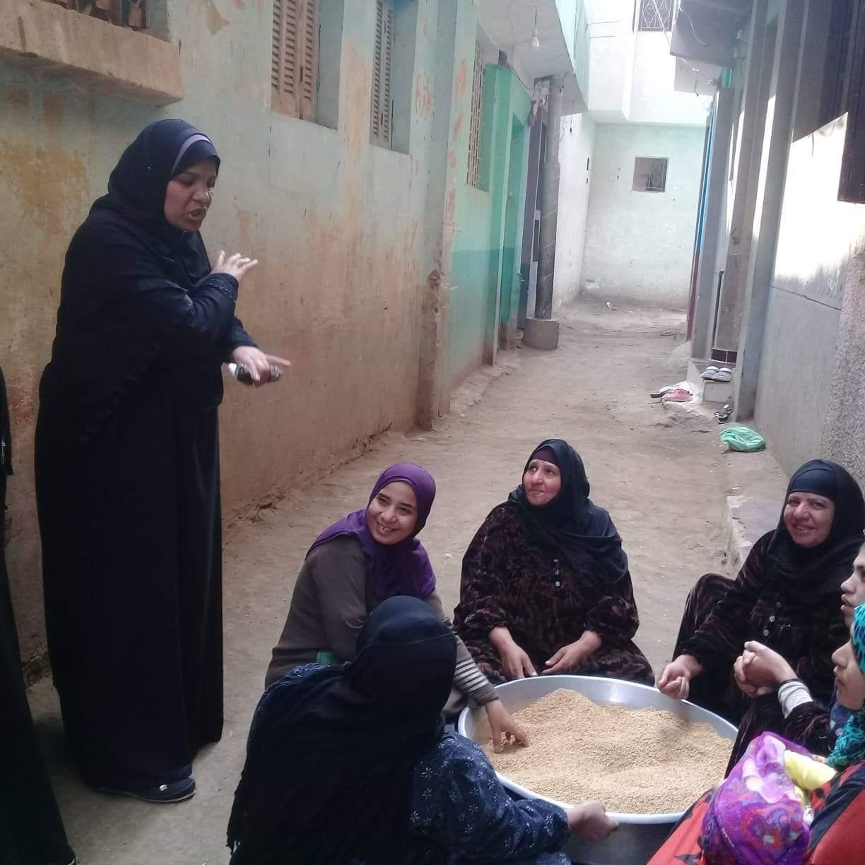 المجلس القومي للمرأة  ينظم فعاليات حملة صوتك لمصر بكرة بالجيزة (1)