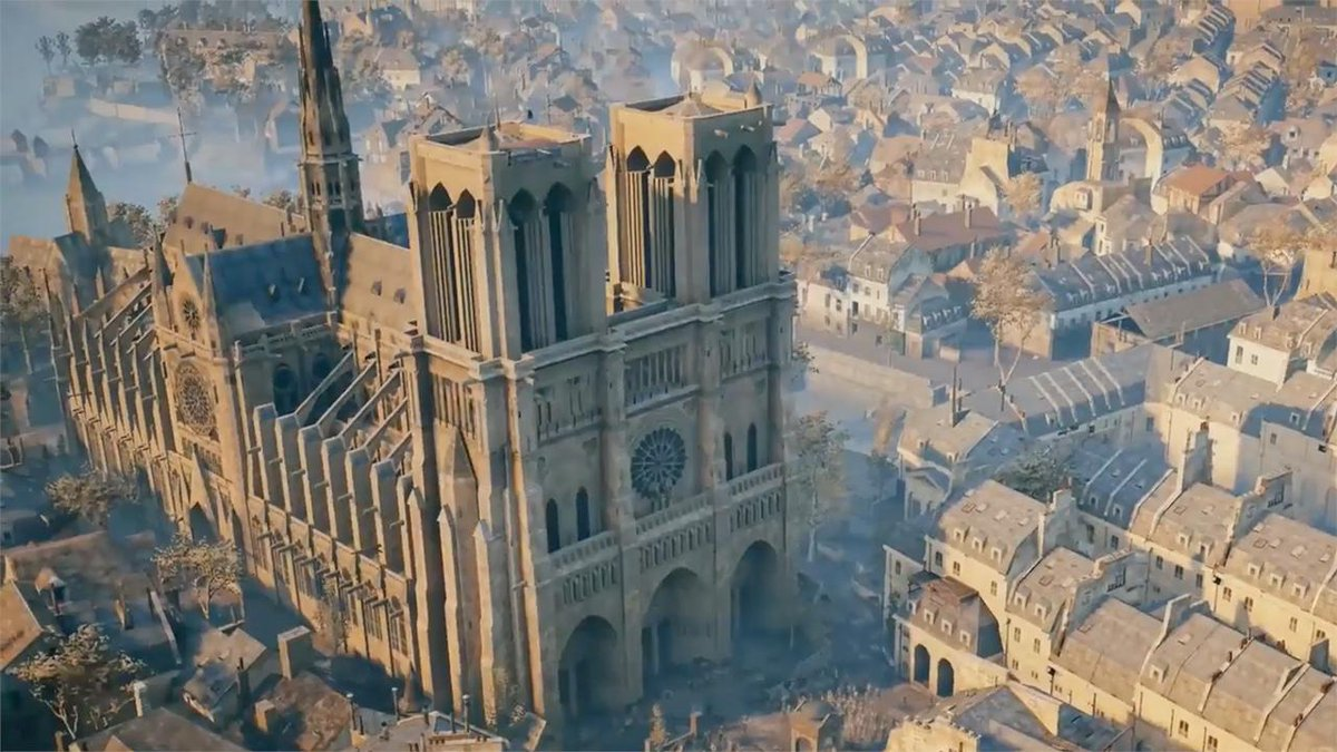 كاتدرائية نوتردام التاريخية فى باريس
