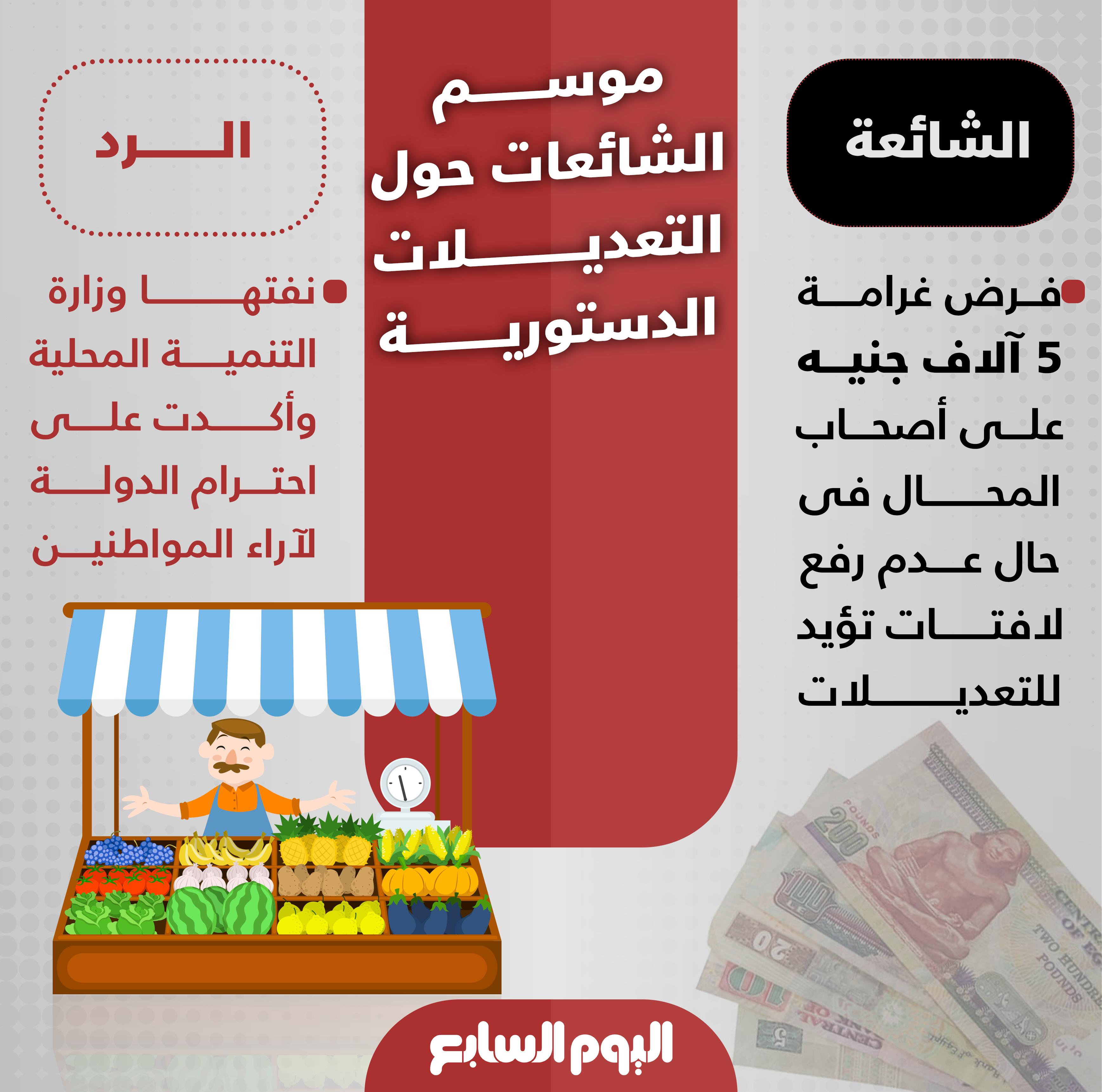 الشائعات حول تعديلات الدستور (4)