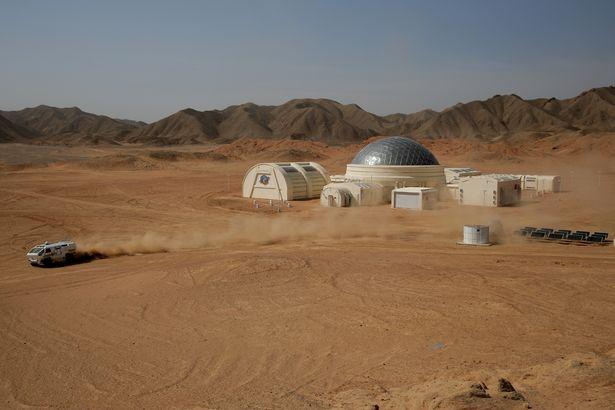 قاعدة محاكاة المريخ