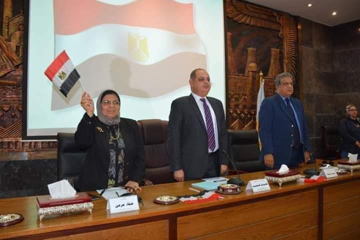 القومى للمراة ينظم ندوة ضمن حملة صوتك لمصر بكرة بمحافظة الغربية (2)