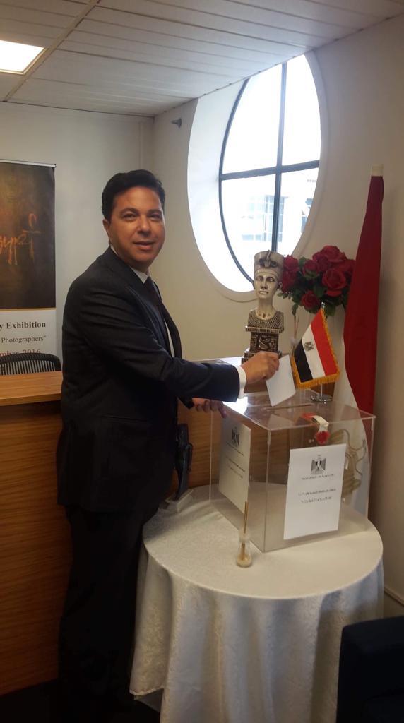 السفير طارق الوسيمى