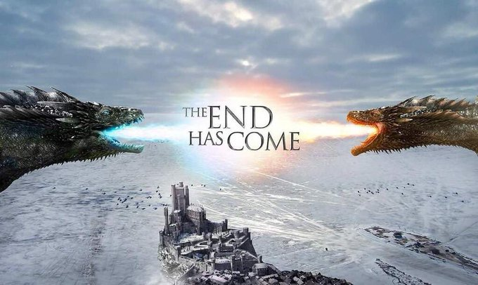 Game of Thrones the end has come