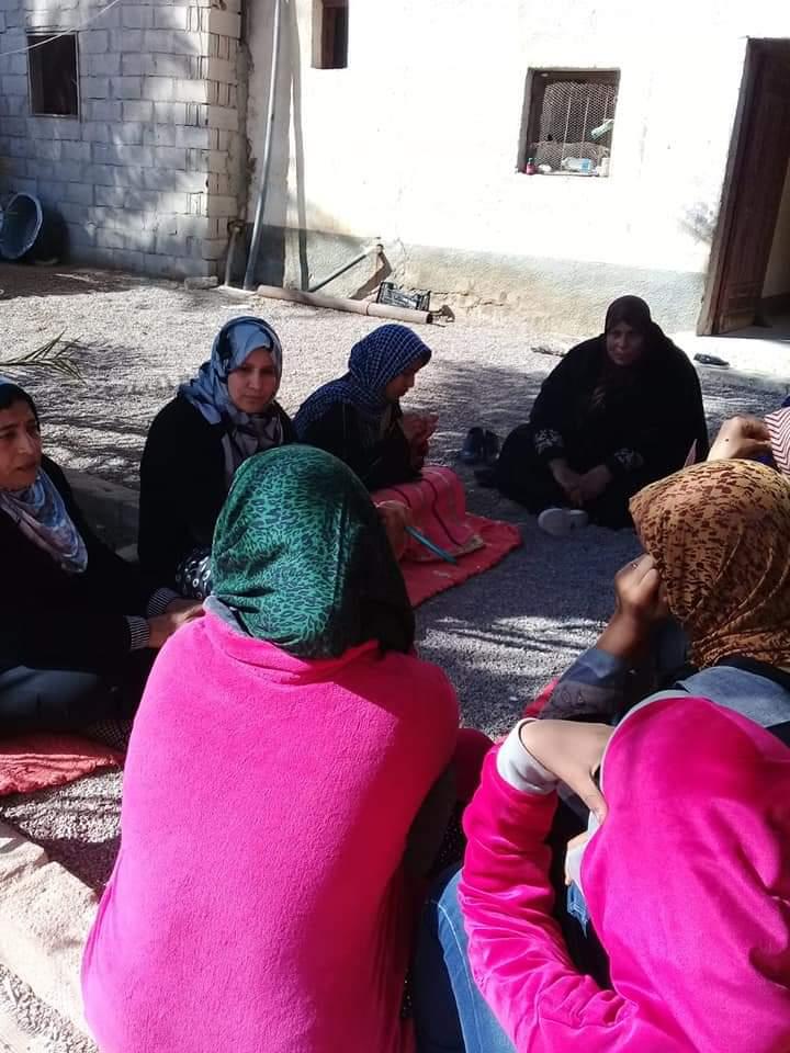المجلس القومي للمرأة  ينظم فعاليات حملة صوتك لمصر بكرة بجنوب سيناء (2)