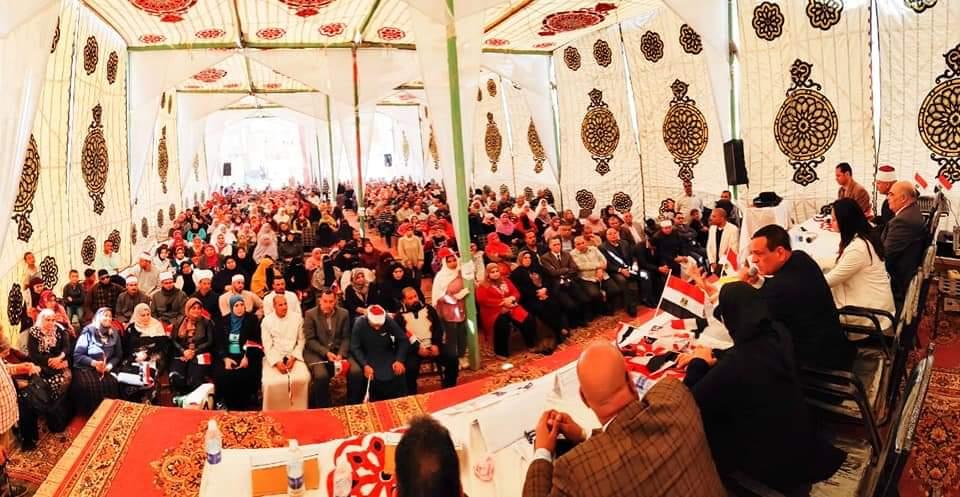 المجلس القومي للمرأة  يواصل فعاليات حملة صوتك لمصر بكرة لليوم الرابع بالبحيرة (2)