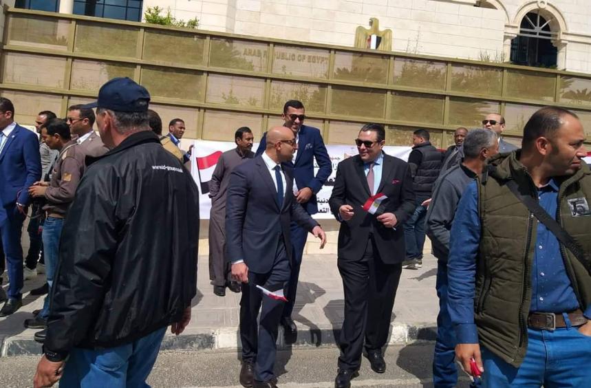 تصويت المصريين المقيمين فى البحرين