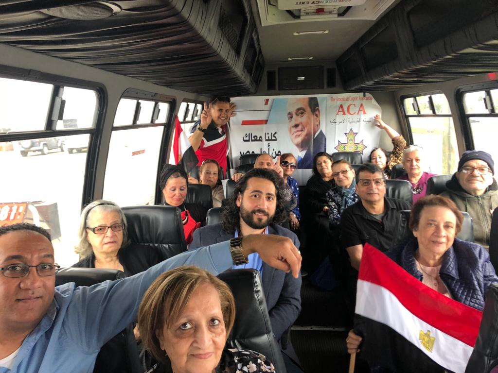 الجالية المصرية بالولايات المتحدة
