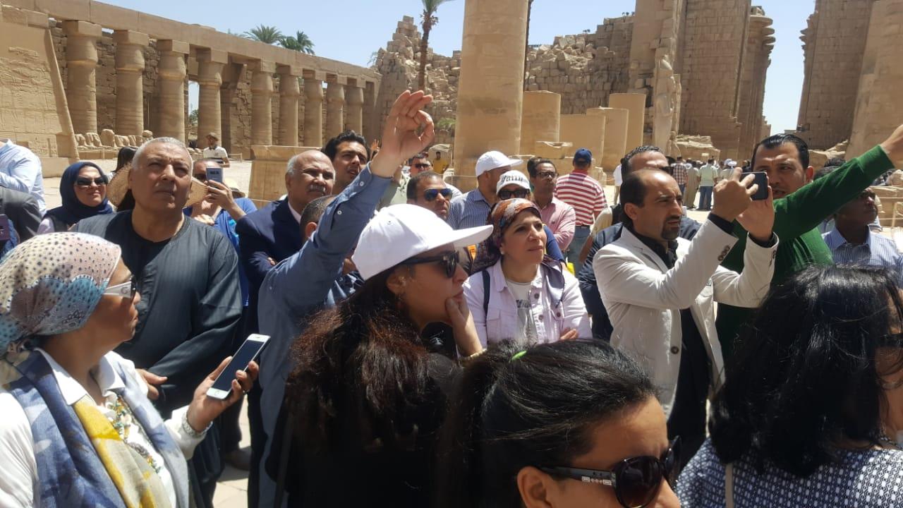 جولة وزيرة السياحة