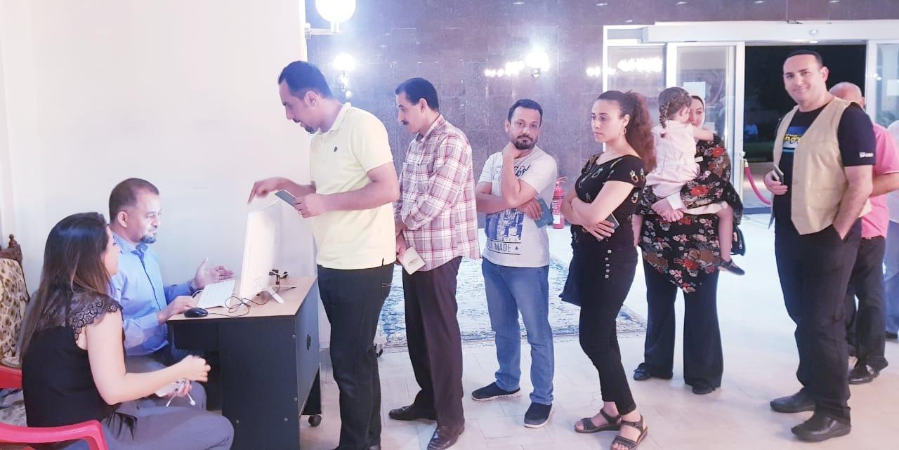 إقبال المصريين فى سلطنة عمان