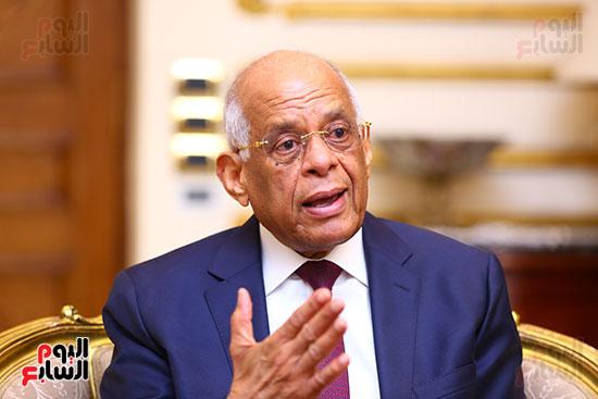 أول حوار مع الدكتور على عبد العال رئيس مجلس النواب بعد إنجاز التعديلات الدستورية (10)