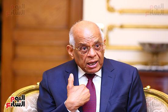 أول حوار مع الدكتور على عبد العال رئيس مجلس النواب بعد إنجاز التعديلات الدستورية (13)